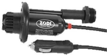 Zodi Outback Gear 12V Pump w/12V Plug and Wash Down Hose 1097