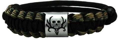 AES Outdoors Bone Collector Survival Bracelet Camo/Black BC-SB-002
