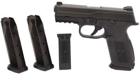 FNH USA FNS-40 No Safety 40 S&W 14 Round, 3 Magazines Black/Black Semi Automatic Pistol 66760