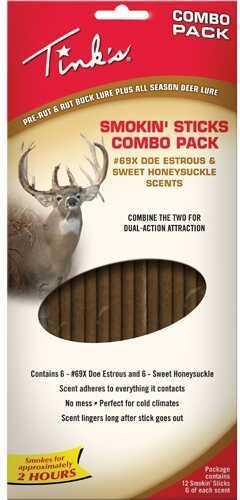Tinks Smokin' Sticks Honeysuckle & 69-X Combo W5895