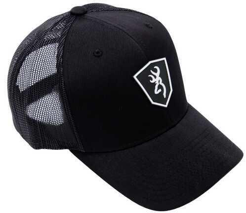 Browning BRN CAP Black LBL SHIELD MESH BKBLK 308556991