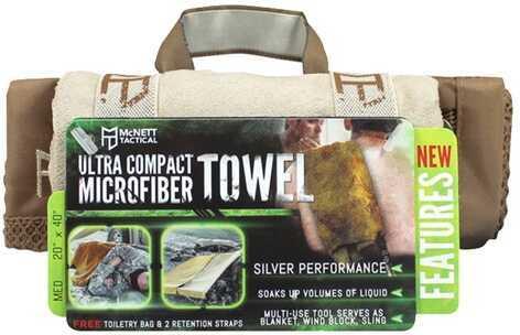 McNett OutGo Microfiber Towel, Medium Sand 44036
