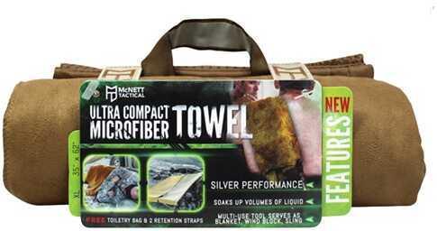 McNett OutGo Microfiber Towel, X-Large Coyote 44032