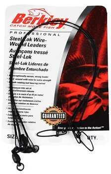"Berkley Wire-Wound Steelon Leaders 9"" 30 lbs, Black 1011684"