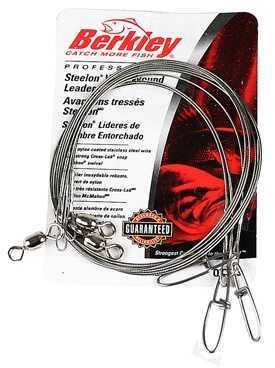 "Berkley Wire-Wound Steelon Leaders 12"" 30 lbs, Bright 1011687"