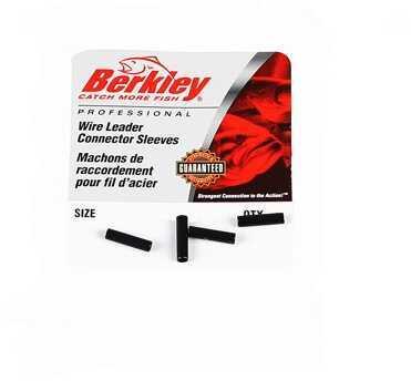 Berkley Connector Sleeve Black, Per 25 1012014