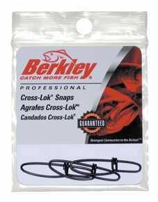 Berkley Cross-Lok Snaps, Black Size 3 1012371