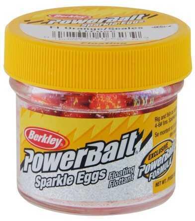 Berkley PowerBait Sparkle Eggs Fluorescent Orange 1103827
