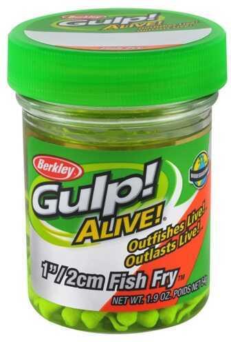 "Berkley Gulp! Alive! Fish Fry, 1"" Chartreuse 1156571"