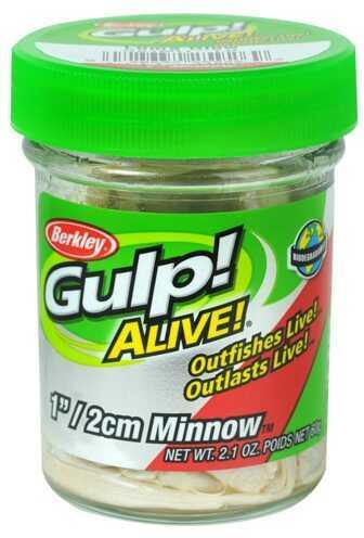 """Berkley Gulp! Alive! Minnow, 1"""" Luma Glow 1160755"""