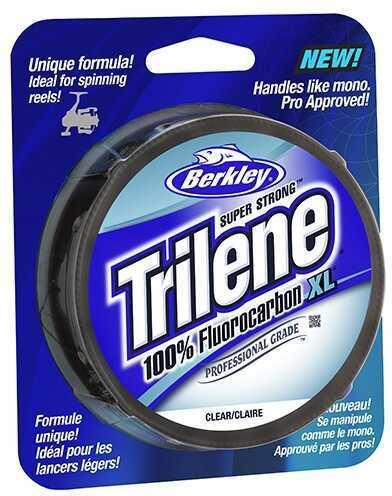 Berkley Trilene Fluorocarbon XL Professional Grade Filler Spool 8 lb, 200 Yards, Clear Md: 1291907