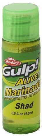 Berkley Gulp! Alive! Marinade 1/2 oz, Shad Md: 1294796