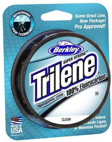 Berkley Trilene Fluorocarbon Professional Grade Filler Spool Line 17 lb, 200 Yards, Clear Md: 1313946