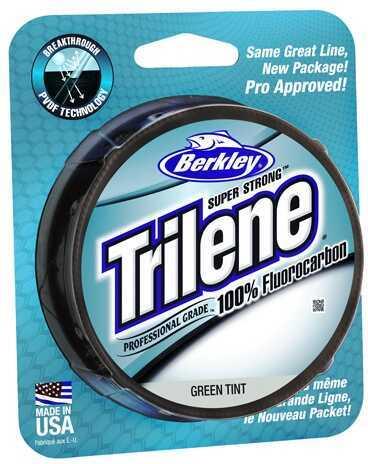 Berkley Trilene Fluorocarbon Professional Grade Filler Spool Line 6 lb, 200 Yards, Green Md: 1313970