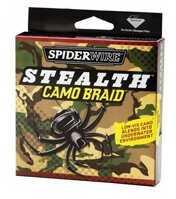 Spiderwire Stealth Braided Line, Camo 6 lb, 125 Yards 1140992