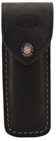 Buck Knives 7673 Genuine Leather, Black Md: 110-06-BK2