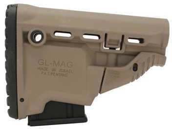 Mako Group M4/AR15 Survival Stock w/Mag Carrier Dark Earth GL-MAG-DE