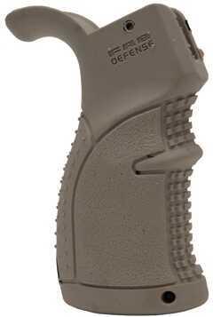 Mako Group Rubberized Ergonomic Pistol Grip for AR15 Dark Earth AGR-43-DE