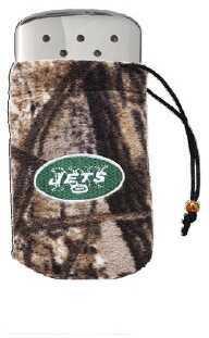 Zippo NFL/Realtree Logo Bag, w/Chrome Hand Warmer New York Jets 40300