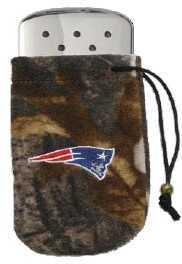 Zippo NFL/Realtree Logo Bag, w/Chrome Hand Warmer New England Patriots 40302