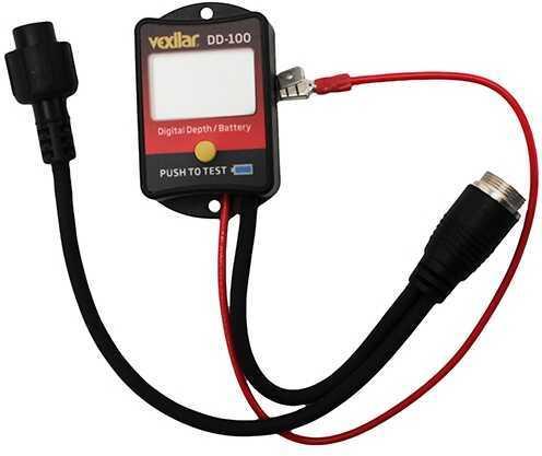 Vexilar Inc. Digital Depth and Battery Gauge DD-100