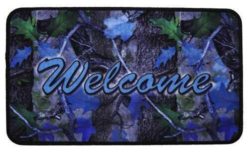 """Rivers Edge Products Door Mat, 30""""x18"""" Welcome, Camo 1869"""