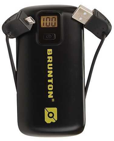 Brunton Metal 4400 mAh, 3x Charges - Black F-METAL-BK
