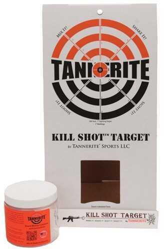 Tannerite Kill Shot Target Target Cardboard Bullseye Target & 1/2Et KST