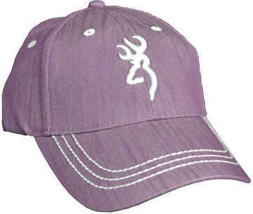 Browning Brn Cap STONEHAVEN Purple/WHT Logo