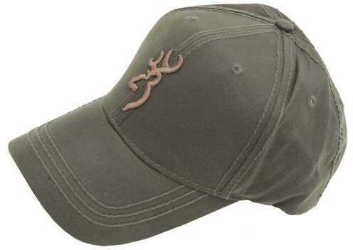 Browning Dura-Wax Cap 3D Buckmark, Olive Md: 308412941