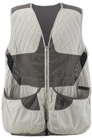 Browning Mens Summit Vest, Grey/Charcoal Medium Md: 3050317902