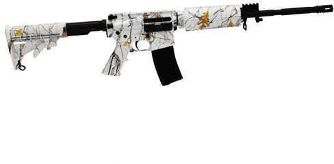 "Windham Weaponry SRC M4 223 Remington /5.56 NATO 16"" Barrel 30 Round Flat Top Snowfall Camo Semi Automatic Rifle R16M4FTT-C2"