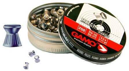 Gamo Match Pellets Flat Nose .177 (Per 250) Md: 6320024BL54