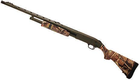 """Mossberg 500 Flex Adjustable 20 Gauge Shotgun 24"""" Vented Barrel 6 Round Fiber Optic Sights 54319"""
