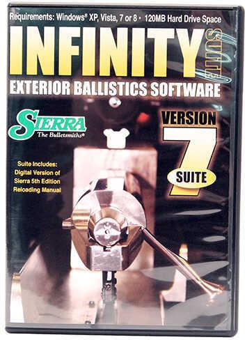 Sierra Infinity Suite V7 Ballistic Software Md: 0702