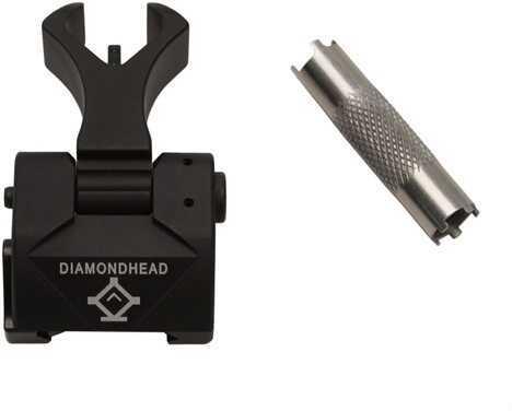 Diamondhead Diamond Sight Front Sight w/Tritium, Black Md: 1057