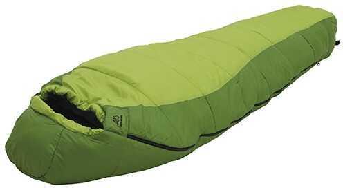 Alps Mountaineering Crescent Lake +20° Kiwi/Green Wide Md: Mummy Sleeping Bag 4513322