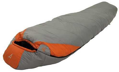Alps Mountaineering Desert Pine Grey/Rust +20° Long Md: Mummy Sleeping Bag 4612023