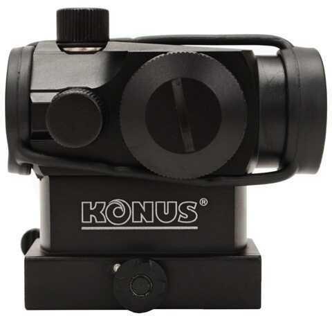 Konus Optical & Sports System Sight-Pro Atomic Mini Red Dot w/Riser & QR Md: 7216