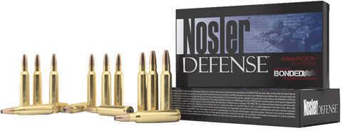 Nosler 6.8mm SPC 90 Gr Bonded Solid Base (Per 20) Md: 39680