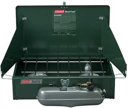Coleman Dual Fuel Stove 2 Burner Md: 3000000788