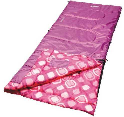 Coleman Sleeping Bag, Rectangular, Youth Girl Md: 2000014155