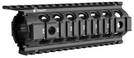 "Troy Industries Carbine/M4 Enhanced Drop-In Battle Rail, 7"" Black Md: SRAI-DID-D7BT-00"