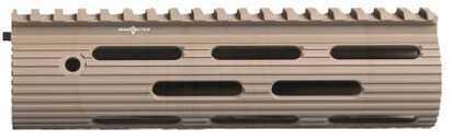 "Troy Industries VTAC Alpha Rail, No Sight, Flat Dark Earth 9"" STRX-AVK-90FT-01"