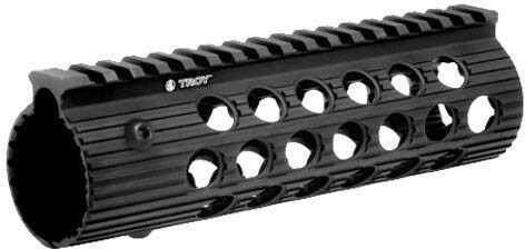 """Troy Industries Alpha 308 Rail, Black 7.2"""" DPMS HP Md: STRX-AL3-7HBT-01"""