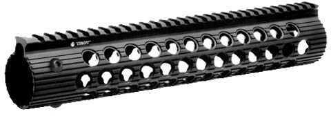"Troy Industries Alpha 308 Rail, Black 12"" DPMS LP STRX-AL3-2LBT-01"
