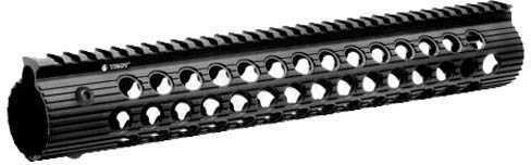 """Troy Industries Alpha 308 Rail, Black 13"""" DPMS HP Md: STRX-AL3-3HBT-01"""