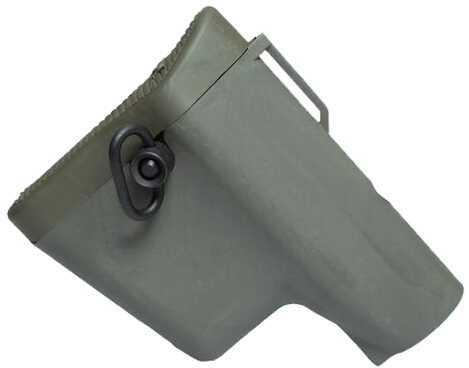 Troy Industries BattleAx CQB Stock Olive Drab Md: SBUT-LW1-00GT-00