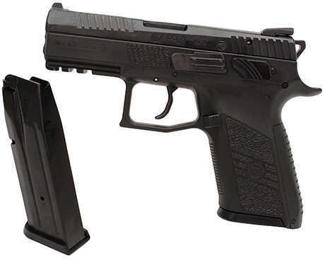 Pistol CZ P-07 9mm Luger IntBkStrp Black 15 Round 91086