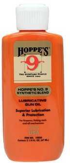 Hoppes Hoppe's Gun Oil Liquid 2oz Synthetic Blend Gun Oil 10/Box Bottle 1003G